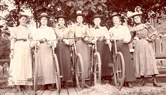 Ladies bike club